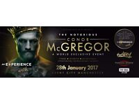 An evening with Conor mcgregor at Media city Salford.