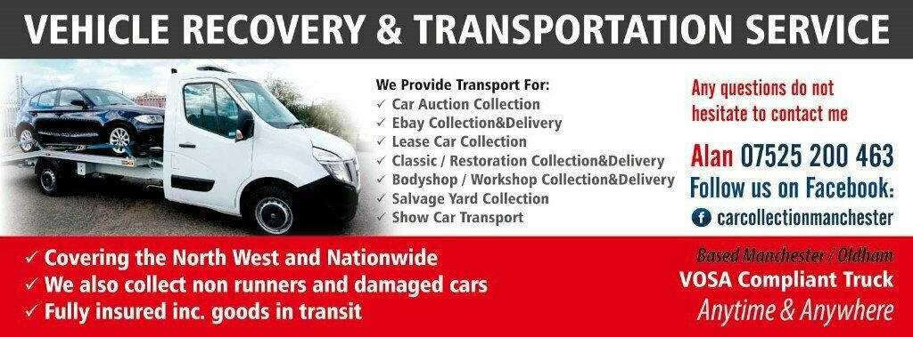 Car Collection Delivery Transport Movement Recovery Breakdown