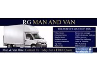 RG MAN AND VAN (READING BASED ✓ HOUSE REMOVALS AND MAN & VAN HIRE, RUBBISH CLEARANCE