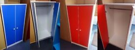 New Children's Wardrobe /Tallboy In either Blue and White or Red and White