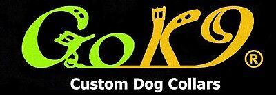 CUSTOM DOG COLLARS by Go K9