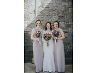 Lavender bridesmaid dress. Size 12.
