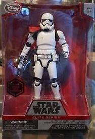 star wars elite series first order trooper captain red pomel
