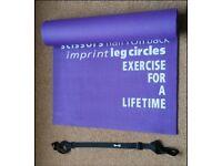 Yoga mat----61 x 172 cm---- purple