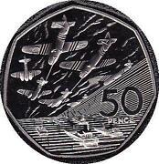 1994 50 Pence