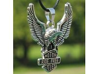 Modern Eagle Pendant Necklace For Men -alloy