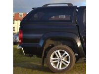 Truckman top for VW Amarok plus bedrug, spare wheel and spare wheel carrier