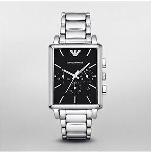 $380 Brand New ARMANI Men's Silver Chrono Classic Watch AR1850 Oakville / Halton Region Toronto (GTA) image 1