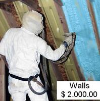 $7,500.00 in Rebates for Spray Foam insulation
