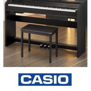 NEW CASIO BLACK PIANO BENCH PIANOS BENCHES SEATING SEAT SEATS STAGE STUDIO KEYBOARD KEYBOARDS 107399949