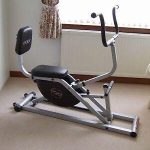 Eforce Cross Trainer stepper spin bike elliptical