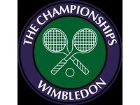 *** x2 Wimbledon championships Mens quarter finals tickets 12th july ****