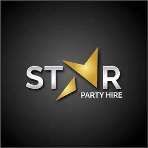 STAR PARTY HIRE  * CHAIR * TABLE * MARQUEE * STAGE * GAZEBO * Kellyville The Hills District Preview