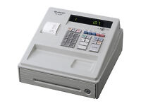 Sharp XE-A107 White Cash Register
