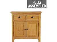 Westminster Mini Sideboard 2 Door 2 Drawer - Oak