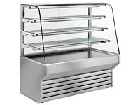 Fridge, glass, commercial, counter presentation / buy or monthly lease