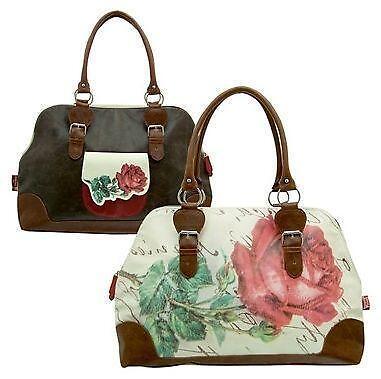 Vintage Overnight Bag Ebay