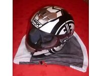 Motorcycle Jacket and Helmet