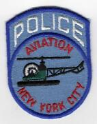 New York City Police Patches