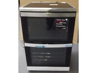 AEG ELETRIC COOKER 60CM WIDE FULL GAS (NEW) COMES WITH G/TEE AND DELIVERY ALSO AVAILABLE