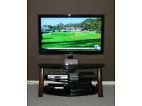 """High Quality: CANTILEVER TV STAND - Flat Screen / Media Solution - Up To 60"""" (75kg Capacity)"""