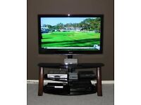 """High Quality: CANTILEVER TV STAND - Flat Screen / Media Solution - Up To 60"""" (75kg TV Capacity)"""