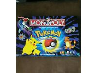 Pokemon monopoly rare