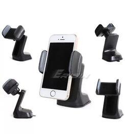 New Universal Mount Suction Holder For Mobile Phones, Gps, Nav, Ipod,