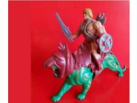 WANTED VINTAGE TOYS - He man - star wars - G i joe - Corgi or Dinky