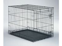 3 X DOG CRATES PETS AT HOME MEDIUM MINT CONDITION