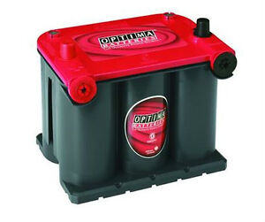 Batterie OPTIMA 12V. 75/25 couvert rouge
