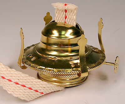 Oil Lamp Burner / Chimney Holders Lamplight Farms Style (m999) Lot Of 5