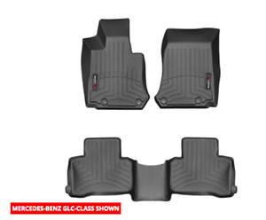 Mercedes Benz OEM Weathertech 3D front and rearfloor mat for GLC