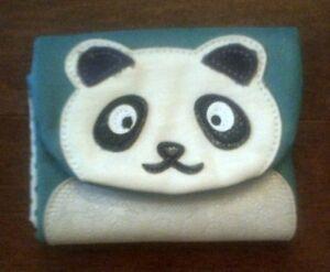 Panda Leather Wallet Gatineau Ottawa / Gatineau Area image 1