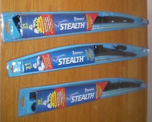 Three brand windshield wipers for sale