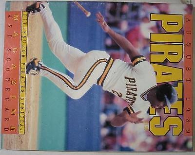 Aug. 1989~Pirates Baseball Magazine~Bobby Bonilla