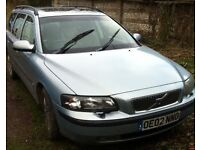 Metallic Blue Volvo Estate V70 - Automatic