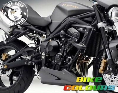 TRIUMPH STREET TRIPLE SPEED TRIPLE TIGER FRAME CHARCOAL PEARL MATT TOU