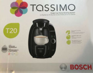 Brand new still in the box Tassimo single cup brewer