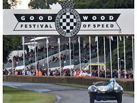 2 tickets to Goodwood Festival of Speed this Thursday 29th of June - £50 for the pair usually £68