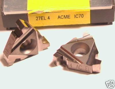 27el 4 Acme Ic70 Iscar Inserts