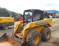 Skidsteer operator required $30.00 per hour
