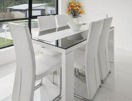 Harvey Norman Modern Dining Table Chairs