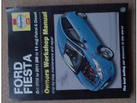 Ford Fiesta 2008 to 2011 (58 to 11 reg) Haynes workshop manual