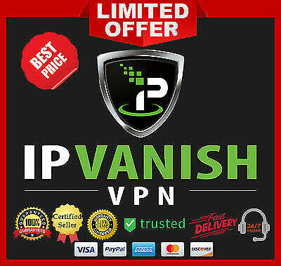 IPVanish VPN Premuim Account 2 years Warranty Auto Renew, Instant Delivery(30s!)