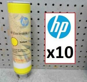 10 NEW HP ELECTROINK YELLOW - 132246753 - PRINTER TONER INK CARTRIDGES
