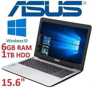 """REFURB ASUS X555LA 15.6"""" NOTEBOOK - 130694942 - INTEL CORE I7 5500U 6GB RAM 1TB HDD WINDOWS 10 PC LAPTOP COMPUTER"""