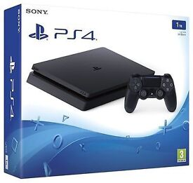 **SEALED** PS4 SLIM 1TB, BRAND NEW PLAYSTATION 4 TERABYTE & 1 YEAR SONY WARRANTY. GENUINE UK STOCK