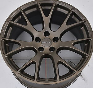 "Hellcat rims OEM 20"" x 9.5"" 5 -115 with center caps and tpms"