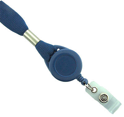 Lanyard Badge Reel Combo Sold In Packs Of 100